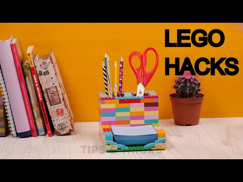 Practical life hacks with LEGO pieces.Tips and Tricks