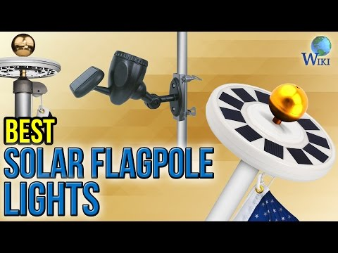 6 Best Solar Flagpole Lights 2017