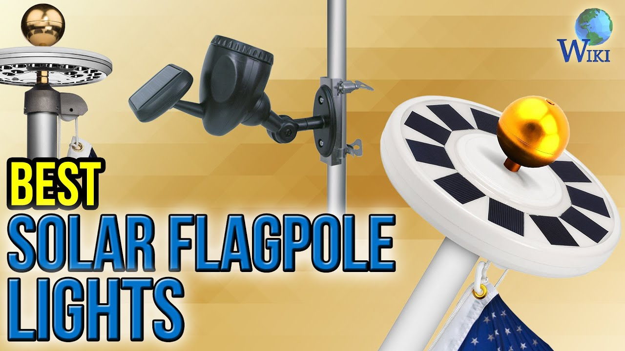 6 best solar flagpole lights 2017 youtube 6 best solar flagpole lights 2017 arubaitofo Image collections