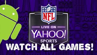 How to Watch All NFL Games on Yahoo Sports App!