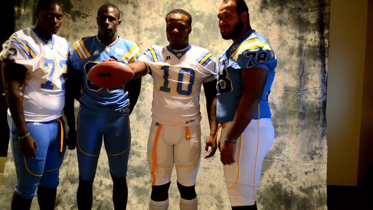 Southern Jaguars Unveil 2011 Football Uniforms