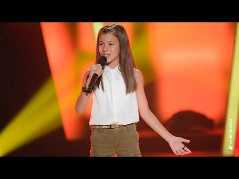 Georgia Sings Eye Of The Tiger | The Voice Kids Australia 2014