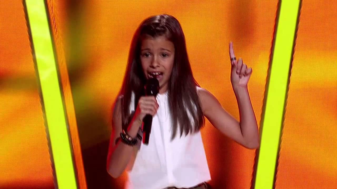 Georgia Sings Eye Of The Tiger   The Voice Kids Australia 2014