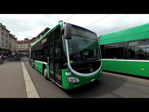 Buses in Basel