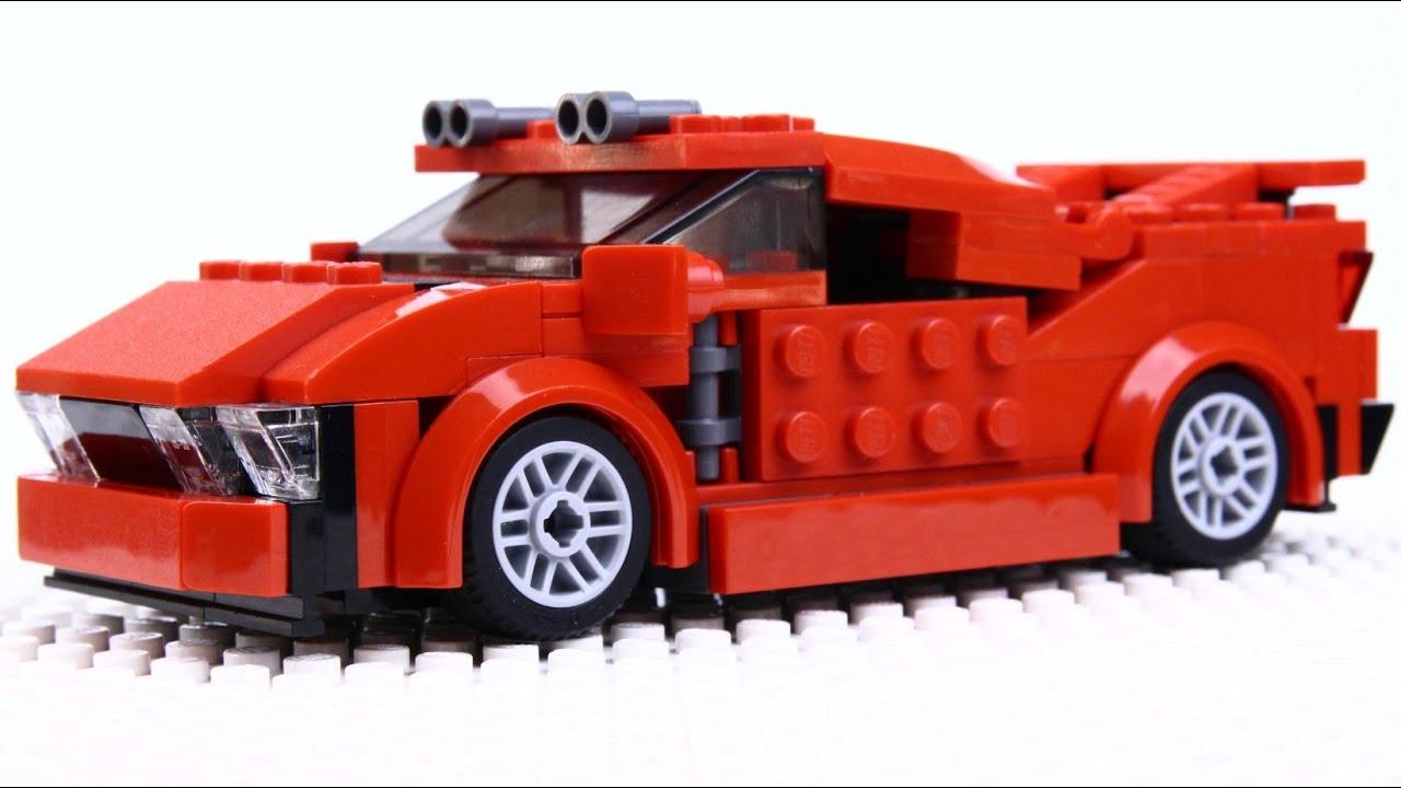 Lego Sports Car Moc Youtube