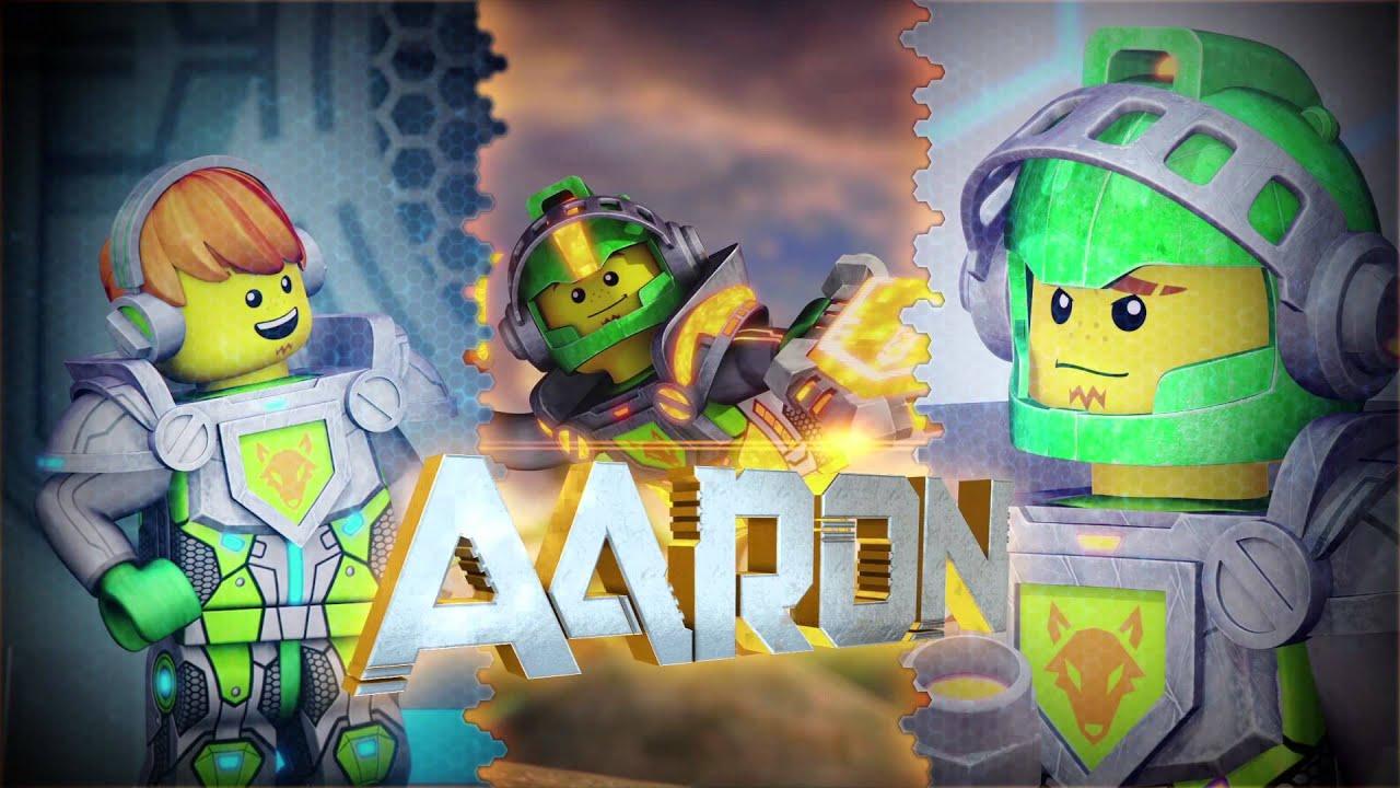 aaron thrill seeker lego nexo knights mini