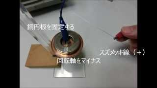 単極誘導モーター実験1-3