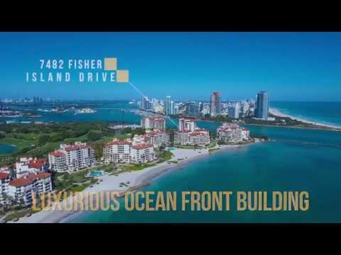 Fisher Island Oceanside Penthouse For Sale