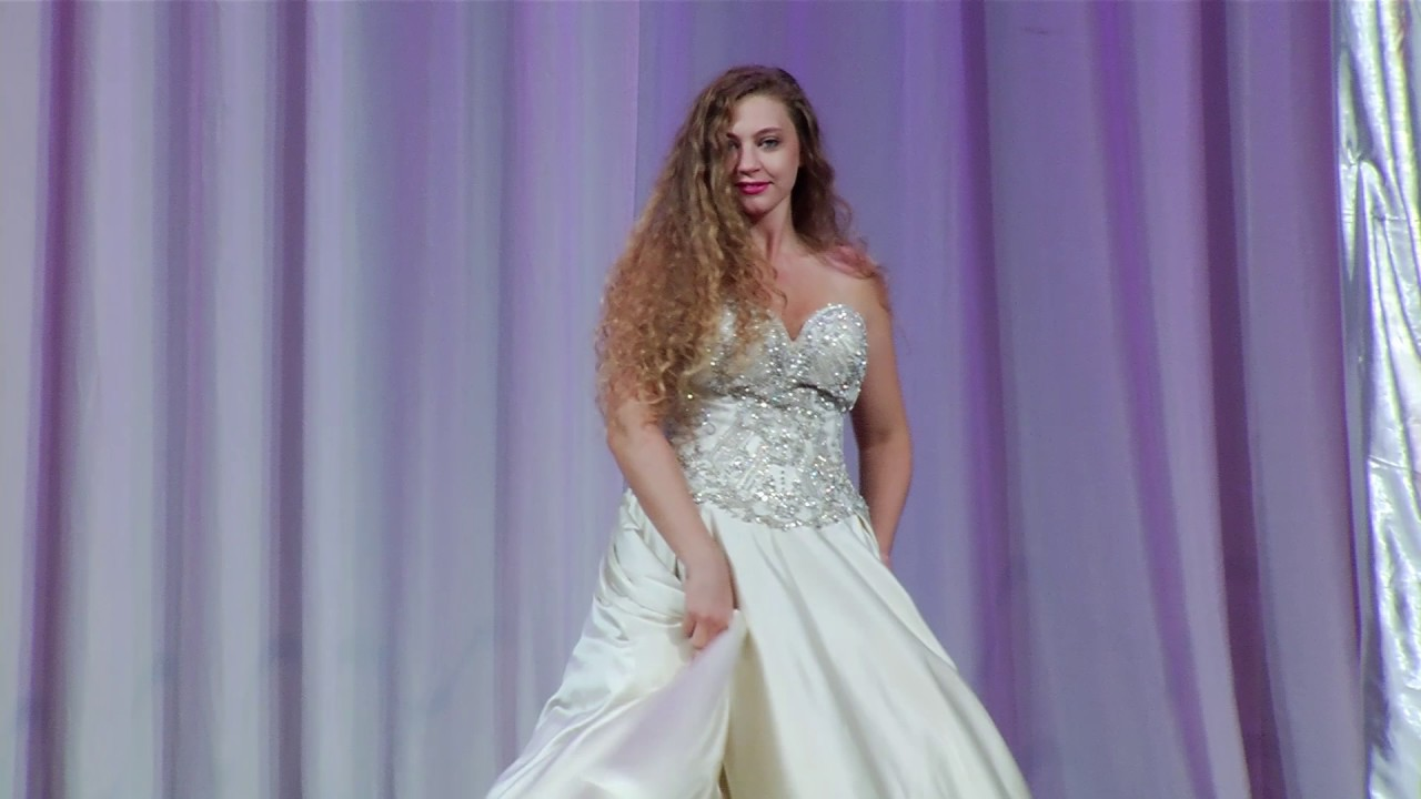 Luxury Wedding Dresses at Las Vegas Bridal Spectacular - YouTube