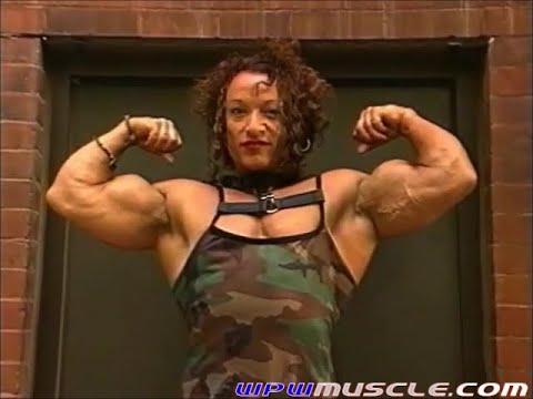 Female Bodybuilder Colette Guimond – V502 Video Preview 7