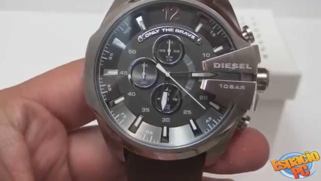DIESEL DZ4290 - Reloj Caballero - YouTube 4e93ea80cdcd