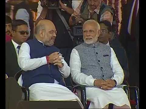 CM Vijay Rupani का शपथ ग्रहण समारोह, Gujarat में लगा BJP Leaders का जमावड़ा