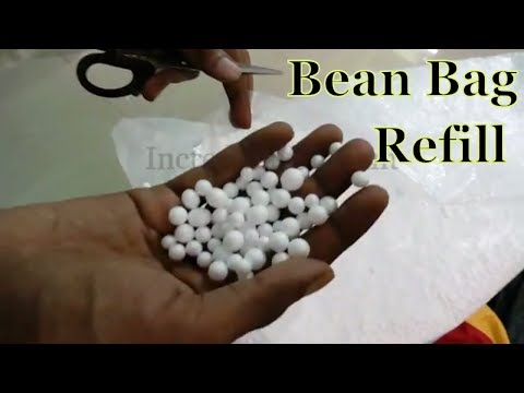 3 Easy Techniques To Refill Bean Bag | Refill Your Bean Bag Easily At Home