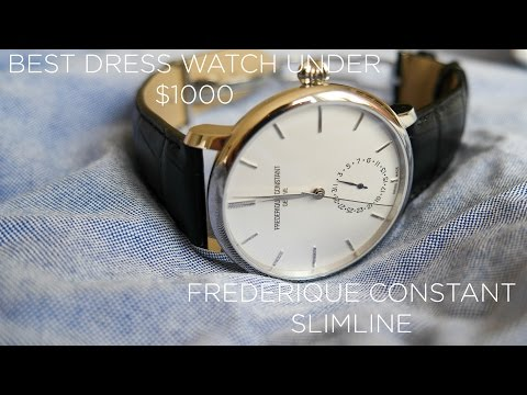 Frederique Constant Slimline - Watch Review | Best dress watch under 1000$?