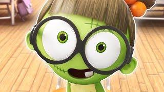 Funny Animated Cartoon | Spookiz | Zizi's New Glasses | 스푸키즈 | Kids Cartoons | Videos for Kids