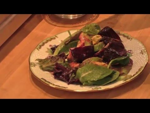 Roasted Beet, Orange, and Avocado Salad