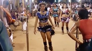 Thanthane Thamara Poo - Dancing in this music karakattam Video Tamil Nadu Jan 2018 HD