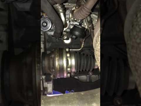 VW EGR valve replacement