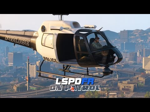 LSPDFR - Day 233 - Police Helicopter Patrol