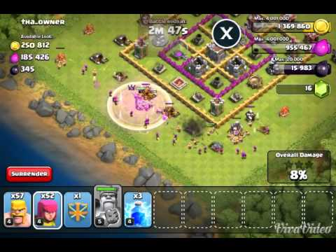 How to attack your Facebook friend in Clash Of Clans
