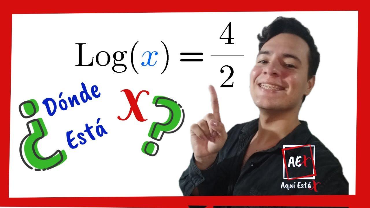 Como QUITAR o ELIMINAR LOGARITMOS de una ECUACION   Despejar LOGARITMO de una Ecuacion - YouTube