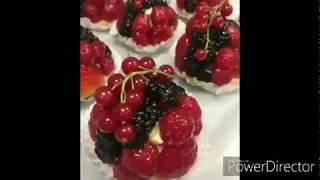 Home recipe mixed berry tart (by: #xoxo Life)