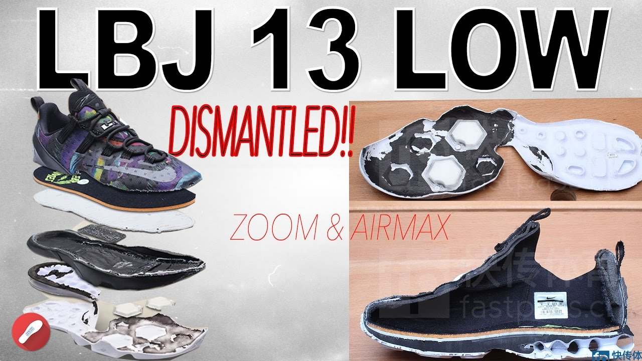the best attitude e1134 3cd6b A Look Inside the DISMANTLED Nike Lebron 13 Low!