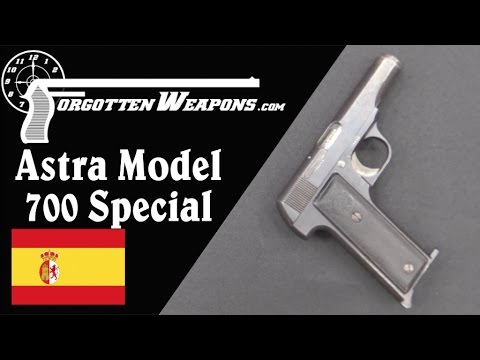 Astra 700 Special: Failed Copy of the FN 1910