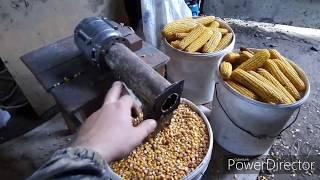 как сделать чистилку для кукурузы