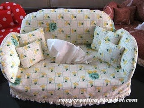 C mo hacer funda sillon para caja de pa uelos 1a parte - Como tapizar un sillon ...