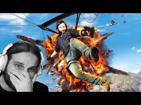 Thumbnail: Gronkh hört sich das erste mal selbst als Synchronstimme in Just Cause 3