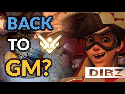 Overwatch: CAN WE GET BACK GM?! Competitive Tracer On Gibraltar!