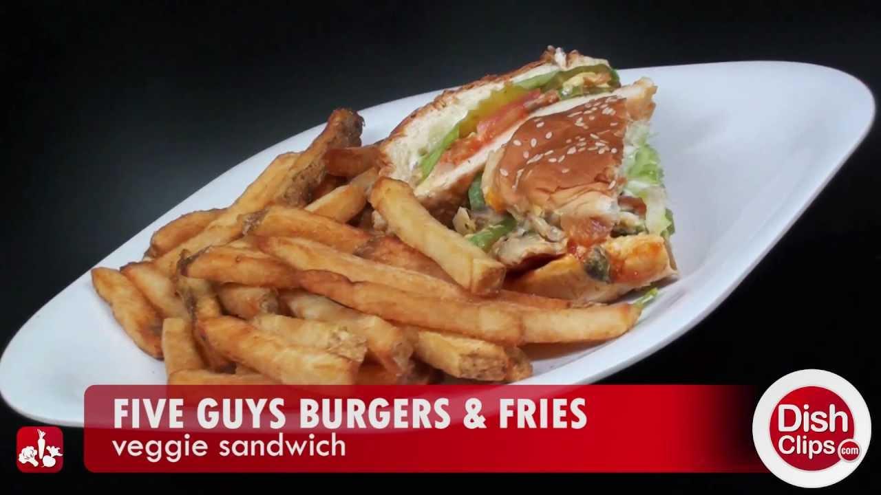 five guys burgers fries