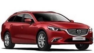 видео Обновленная Mazda 6 Tourer 2015
