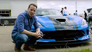 Dodge Viper ACR Walkaround   Top Gear