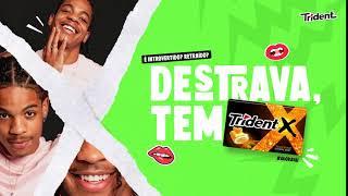 Trident | Destrava Tem Trident - Tangerina