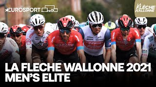 La Flèche Wallonne 2021 | Elite Men | Highlights | Cycling | Eurosport
