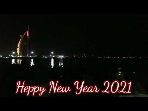 Heppy New Year 2020-2021(Dubai)Burj Al Arab,2021