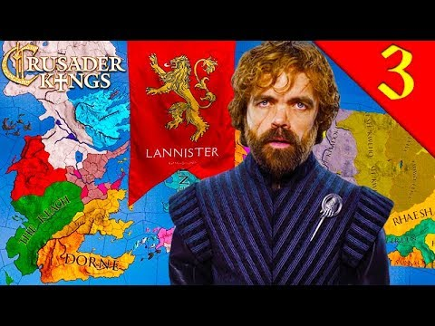 LANNISTER CIVIL WAR! Crusader Kings 2: Game of Thrones: House Lannister #3