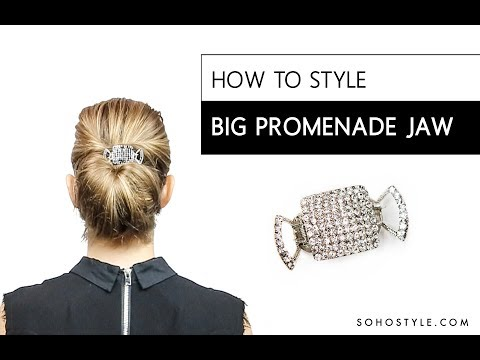 HOW TO STYLE BIG PROMENADE JAW