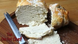 Country Style Loaf Of White Bread - Recipe
