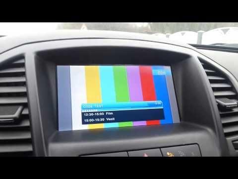 Opel Insignia DVB T2 Srbija - Video Interface
