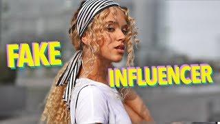 DIMA - Fake Influencer! | DAGI BEE - DISS (PARODIE) feat. Simon Will