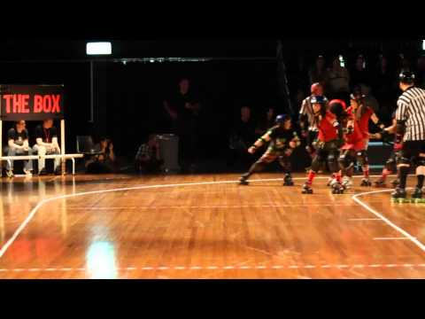 SRDL Roller Derby - From Dusk Till Derby - v2 (Slow Motion)