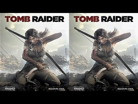 Tomb Raider 2013 3D half SBS #2
