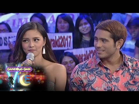 GGV: Kim Chiu and Gerald Anderson as a girlfriend and boyfriend
