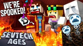 Minecraft: SevTech - WE'RE SPOOKED! - Age 3 #5