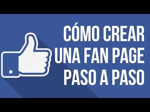 Como Crear una Fan Page en Facebook Paso a Paso