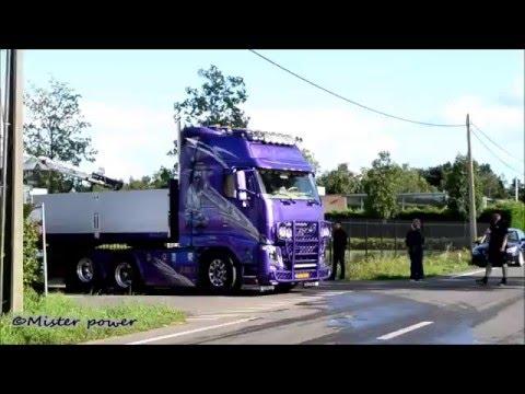 Trucks in convoy #3: H.J.A van Dalen, JJ Verweij, Weeda