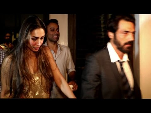 DRUNK Malaika Arrora SPOTTED With Arjun Rampal At Late Night Party